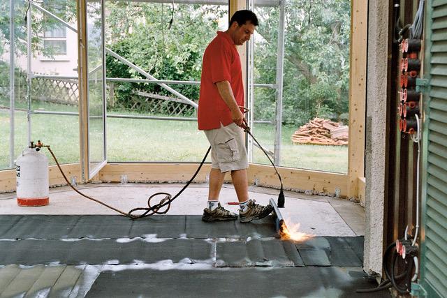 Aménagement intérieur : pare-humidité